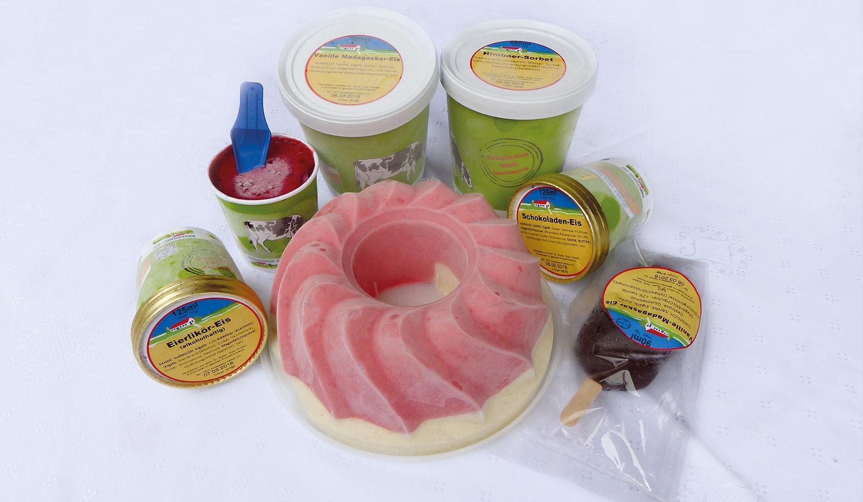 Eissorten Haselstaller Hof