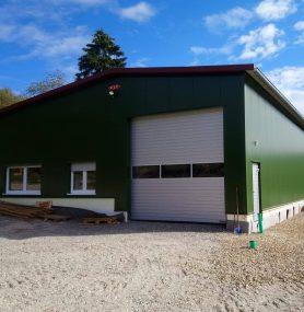 Haselstaller Hof Produktionshalle 2018